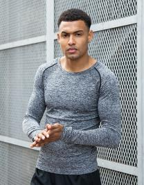 Adults` Seamless Long Sleeved Top